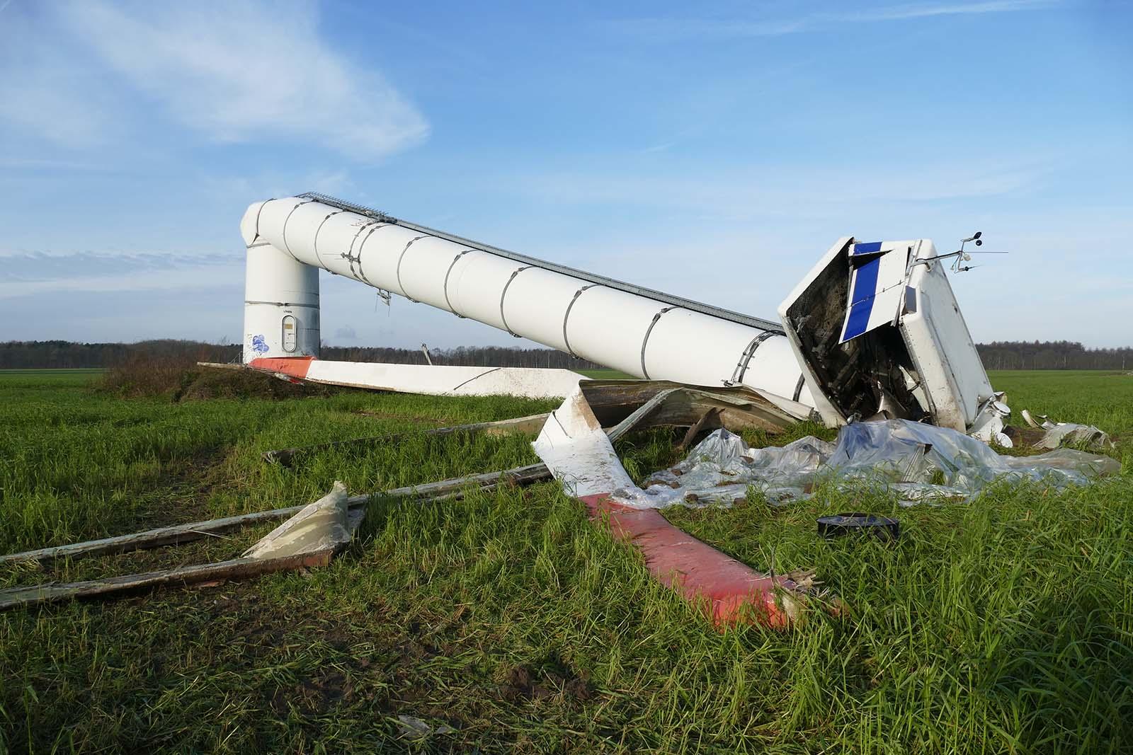 wind turbine failure